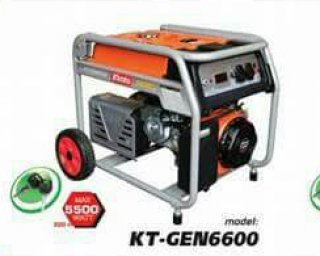 เครื่องยนต์ปั่นไฟเบ็นซิน รุ่น KT GEN 6600