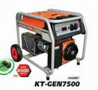 เครื่องยนต์ปั่นไฟเบ็นซิน รุ่น KT GEN 7500