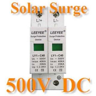 ชุดป้องกันไฟกระชาก DC Solar Surge 500V