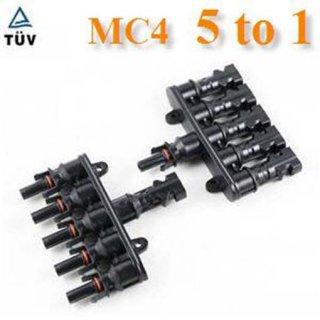 ข้อต่อสายไฟ MC4 ต่อขนาน 5