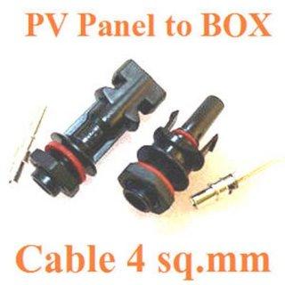ข้อต่อเข้ากล่อง IP67 สำหรับสายไฟ 4 sq.mm