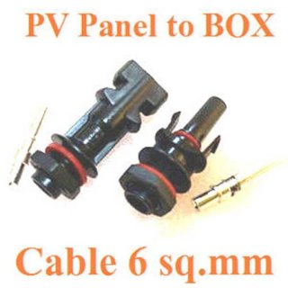 ข้อต่อเข้ากล่อง IP67 สำหรับสายไฟ 6sq.mm