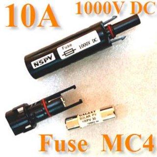 ฟิวส์โซล่าเซลล์ MC4 10A 1000V