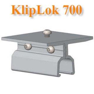 ตัวยึดหลังคาเมทัลชีทKlip‐Lok 700 ไม่รวมตัว L