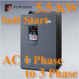 อินเวอร์เตอร์ แปลงไฟ AC 380V 3phase 7HP 5.5KW