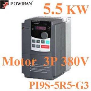 โซล่าปั้ม 3 เฟส 380V 5.5KW