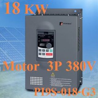 โซล่าปั้ม 3 เฟส 380V 18KW