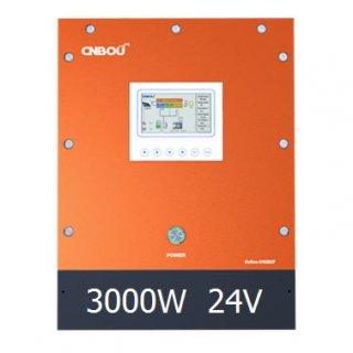 อินเวอร์เตอร์ไฮบริด Continuos Power 3000W 24V MPPT