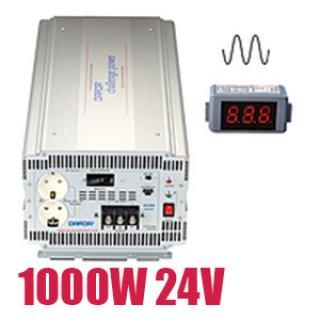 อินเวอร์เตอร์ Pure Sine Wave 1000W 24V