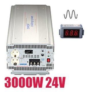 อินเวอร์เตอร์ Pure Sine Wave 3000W 24V