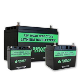 แบตเตอรี่ Smart Lithium 12V40ah