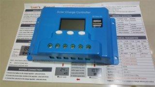ชาร์จเจอร์ จอ LCD 20A 12 24V