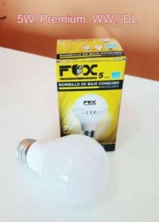 หลอดไฟ LED 12V 5W Premium