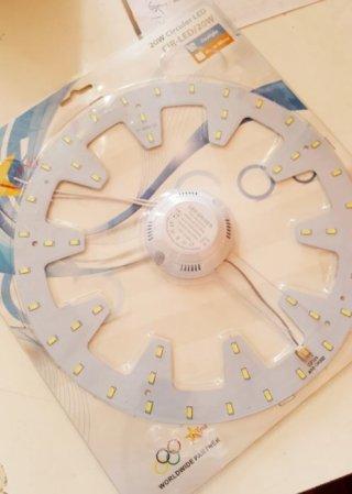 หลอดไฟ LED 20W สำหรับโคมเพดานซาลาเปา