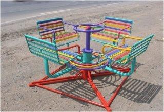 เก้าอี้หมุน 4 ที่