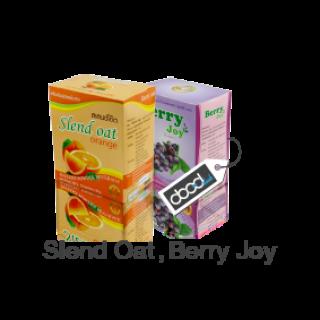 ผลิตภัณฑ์ล้างลำไส้ Slend Oat Berry Joy