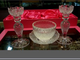 Crystal glass handmade