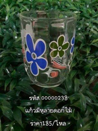 แก้วมีหูลายดอกไม้ รหัส 00000238