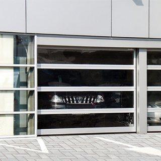 ประตู Industrial sectional door