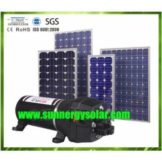 ปั๊มน้ำดีซี 24480 ลิตร พลังงานแสงอาทิตย์