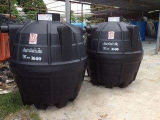 ถังบำบัดน้ำเสียพลาสติก PE รุ่น DCPE-1600