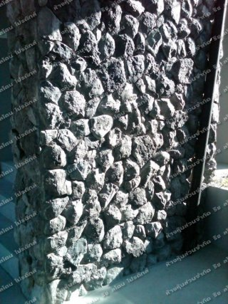 หินเทียม รุ่น MR002 เทาดำ