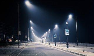 LED ไฟถนน (Street Light) Solar Cell ในตัว