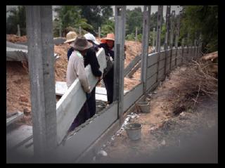 รั้วคอนกรีตสำเร็จรูป นครพนม
