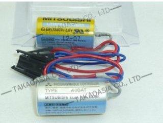 แบตเตอรี่ PLC MITSUBISHI A6BAT ER17330V