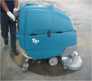 เครื่องขัดล้างพื้นดูดน้ำกลับแบบเดินตาม รุ่น T 5e