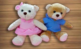 ตุ๊กตาหมีสีชมพู