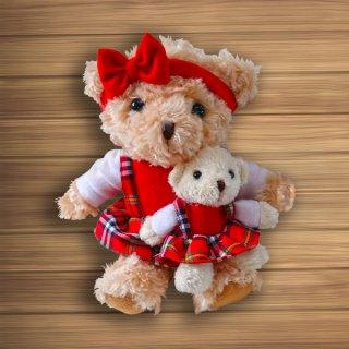 ตุ๊กตาหมีแม่-ลูก