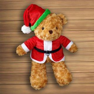 ตุ๊กตาหมีซานต้าครอส