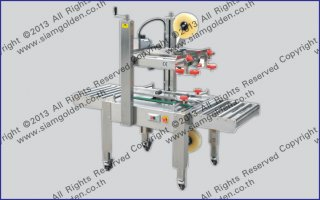STAINLESS AUTOMATIC CARTON SEALER MODEL FXJ 6050S