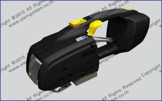 HIGH TENSION PLASTIC STRAPPING TOOL MODEL ZP 96