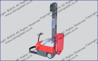 AUTOMATIC CRAB ROBOT PALLET WRAPPING SGS 4510