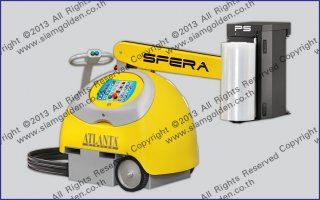 ROBOT PALLET WRAPPING MACHINE MODEL SFERA