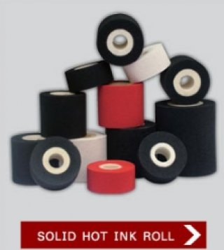 SOLID HOT INK ROLL