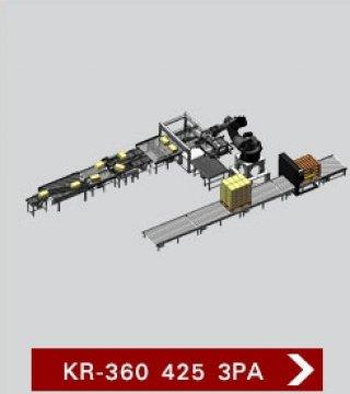 เครื่องจัดเรียงสินค้าบนพาเลท รุ่น KR 360 425 3PA