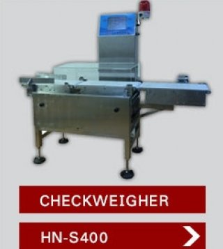 METAL DETECTOR AND CHECKWEIGHER MODEL HN S400