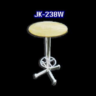 โต๊ะสแตนเลส ทรงวงกลม รหัส JK-238W