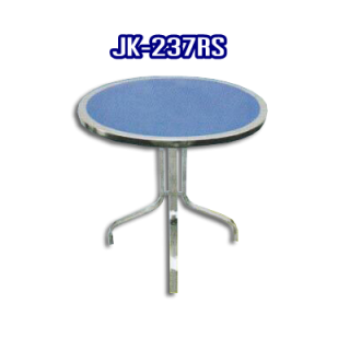 โต๊ะสแตนเลส ทรงวงกลม รหัส JK-237RS