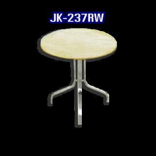 โต๊ะสแตนเลส ทรงวงกลม รหัส JK-237RW