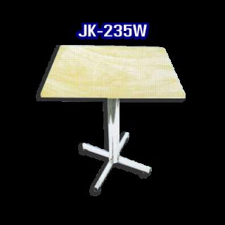 โต๊ะสแตนเลส ทรงสี่เหลี่ยม รหัส JK-235W