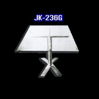 โต๊ะสแตนเลส ทรงสี่เหลี่ยม รหัส JK-236G