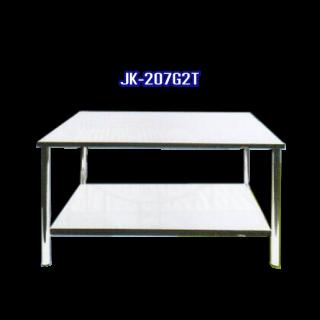 โต๊ะสแตนเลส พับได้ รหัส JK-207G2T