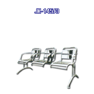 เก้าอี้สแตนเลสยาว รหัส JK-145/3
