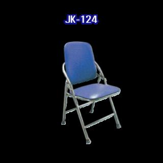 เก้าอี้สแตนเลส มีเบาะ รหัส JK-124