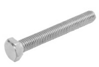 โบล์ทสกรูหกเหลี่ยม เกลียวเต็ม ขนาด M10 x 80 mm