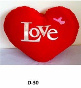 ผลิตหมอนอิงรูปหัวใจ